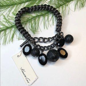 NWT! Kenneth Cole jewelry, black bracelet